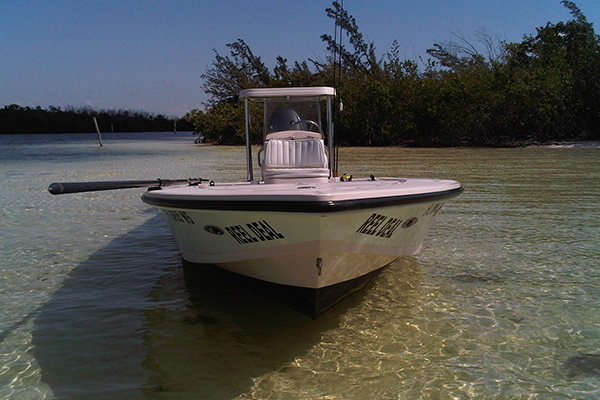 Cancun fishing boat - hewes